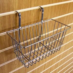 Slatwall Narrow Basket