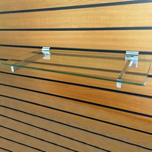 Slatwall Glass Shelve