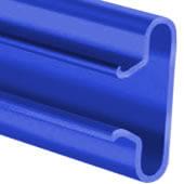 Blue Slatwall Panel Insert