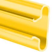 Yellow Slatwall Panel Insert