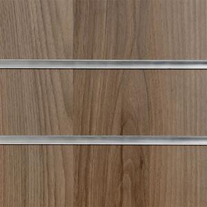 Light Walnut Deluxe Slatwall